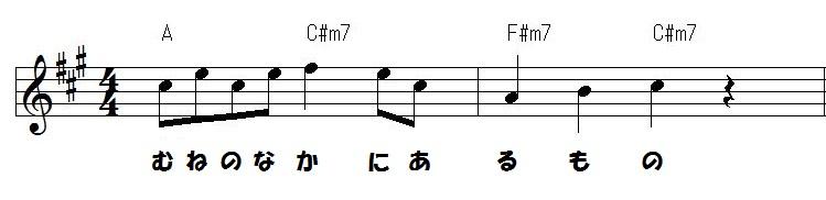 恋ダンス メロディ