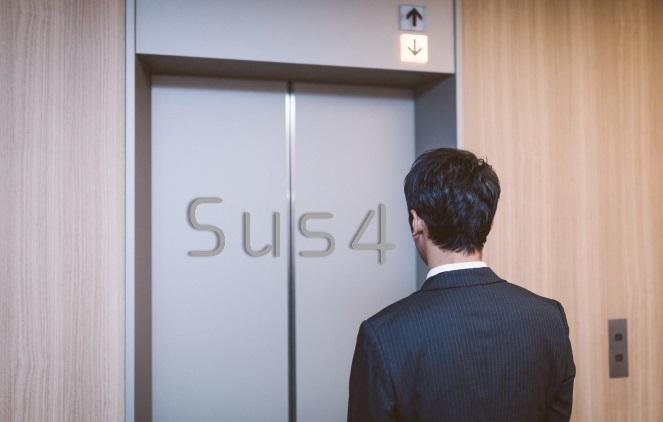 sus4エレベーター