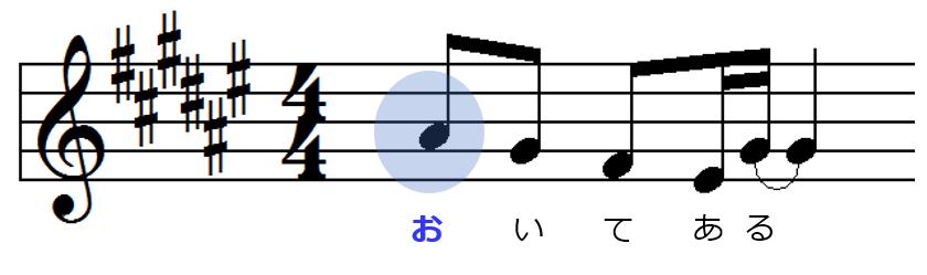 メロディー01