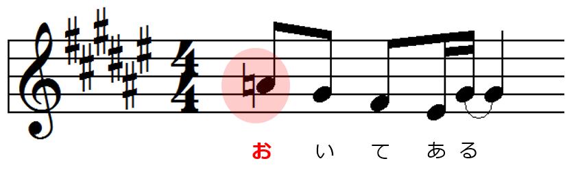 メロディー02