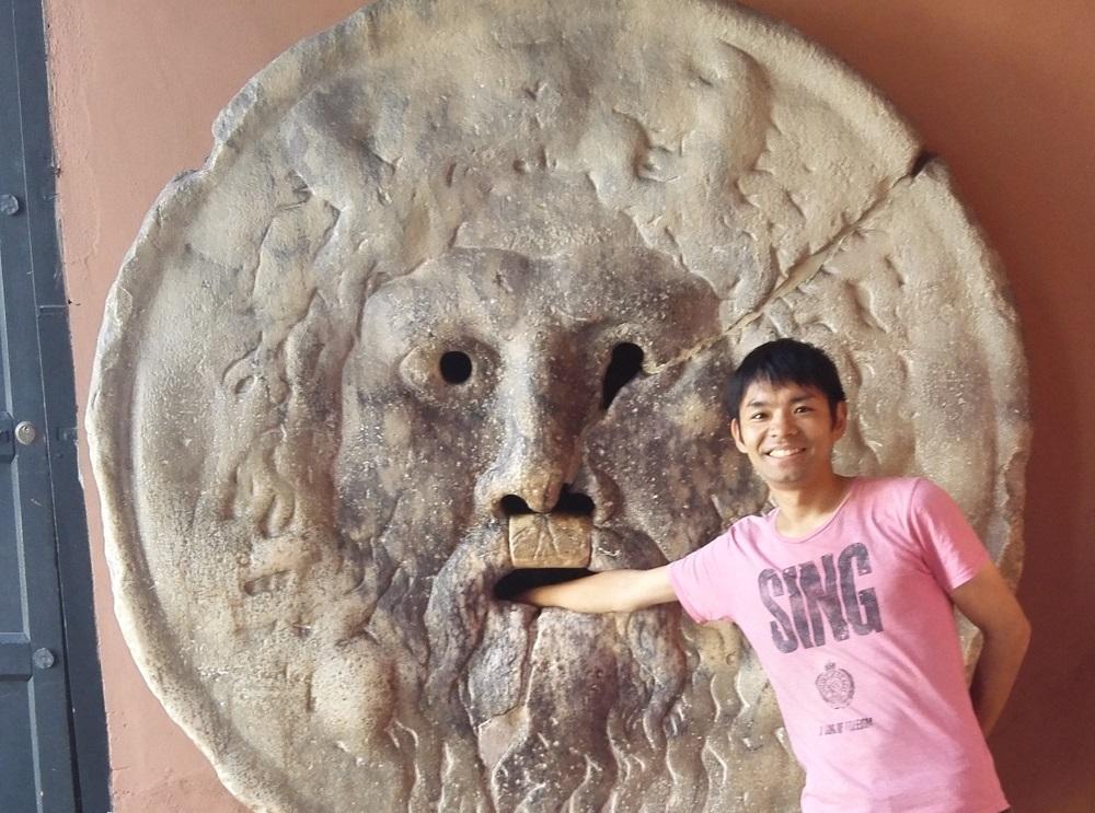 リス世界旅行ローマ