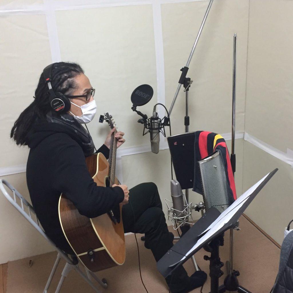 ギターレコーディング