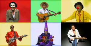 玉置浩二田園のミュージックビデオのキャラクター